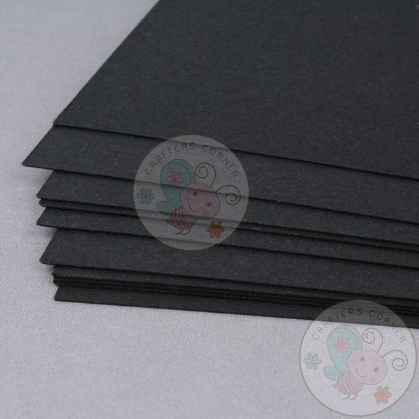 Black Cardstock - 270 GSM