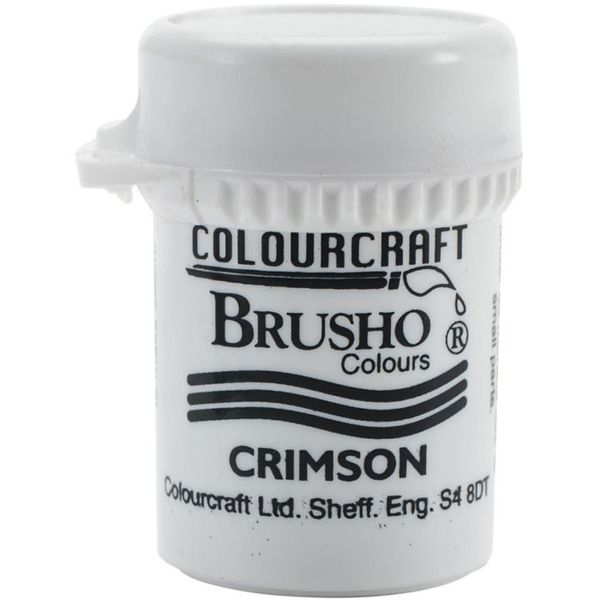 Brusho Crystal Colour 15g - Crimson