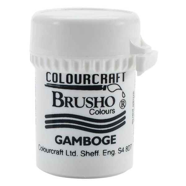 Brusho Crystal Colour 15g - Gamboge