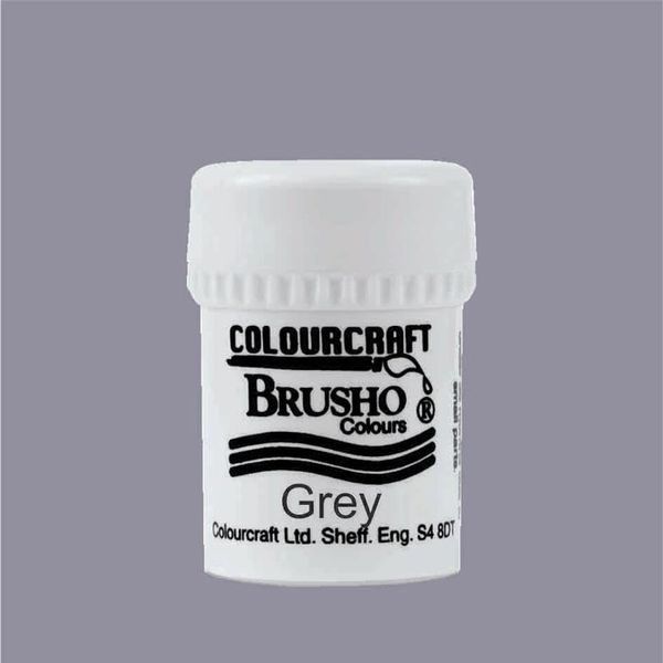 Brusho Crystal Colour 15g - Grey