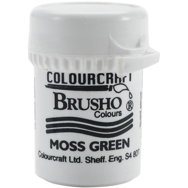 Brusho Crystal Colour 15g - Moss Green