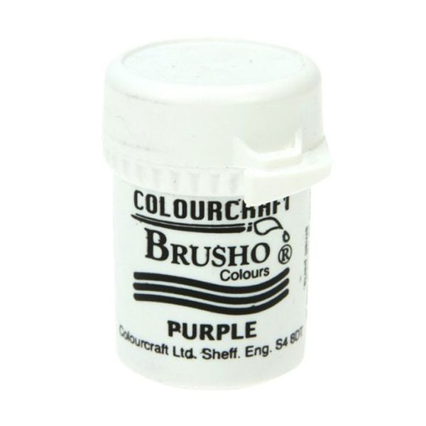 Brusho Crystal Colour 15g - Purple