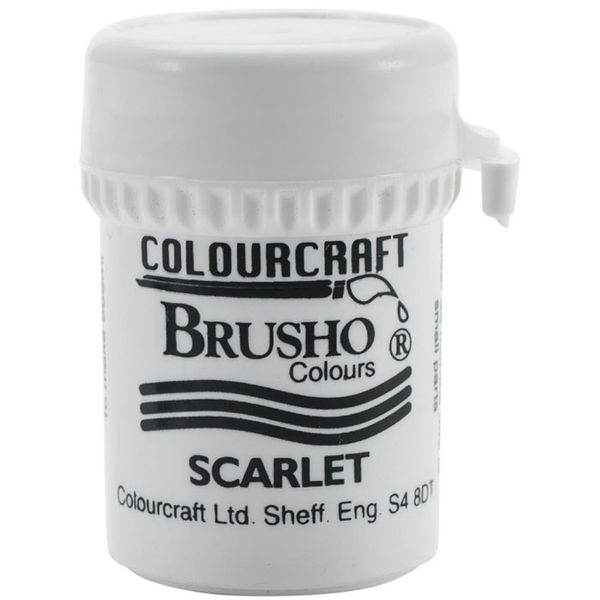 Brusho Crystal Colour 15g - Scarlet