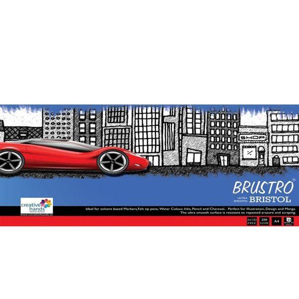 Brustro Ultra Smooth Bristrol 250 GSM - A4 size
