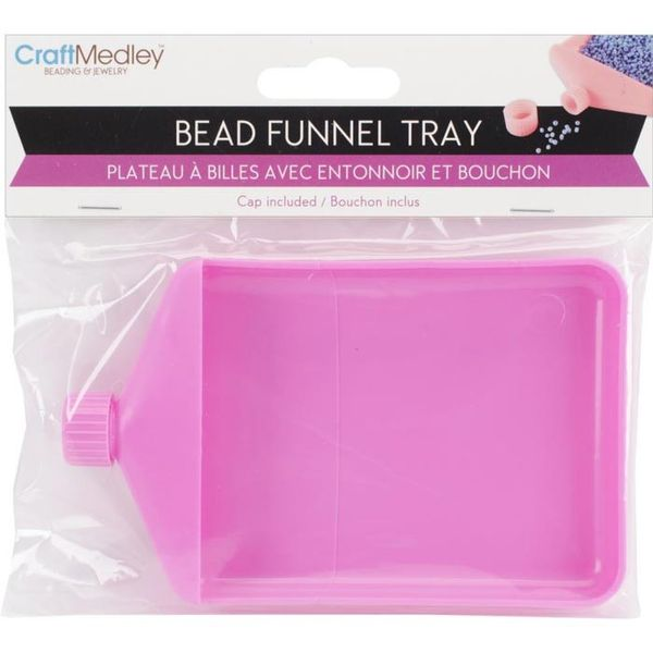 Bead Funnel Tray W/Cap