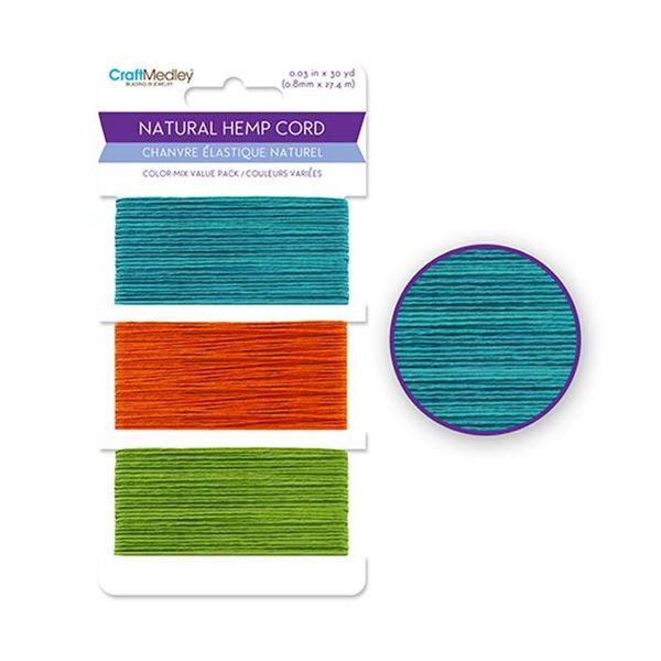 Natural Hemp Cord - Vibrant
