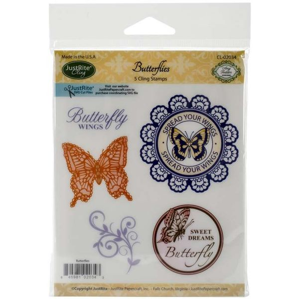 Butterflies - 5 Pcs