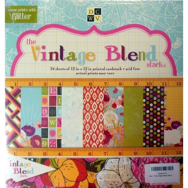 Vintage Blend Paper Stack