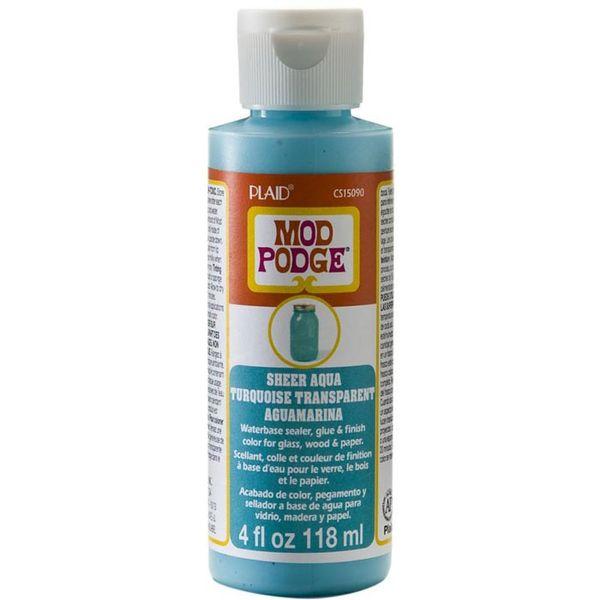 Aqua - Mod Podge Sheer Color 4oz