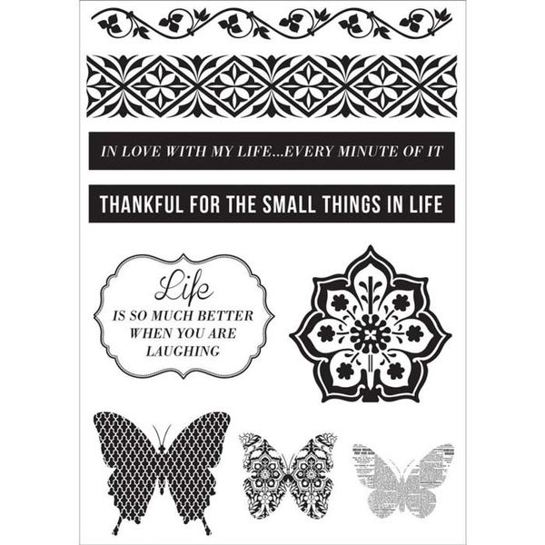 Be-You-Tiful Clear Stamps 6.25 X4