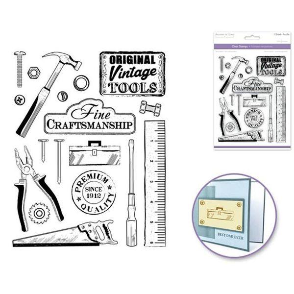Stamp - Tools Vintage