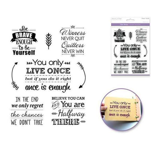 Stamp - Inspirational Sayings