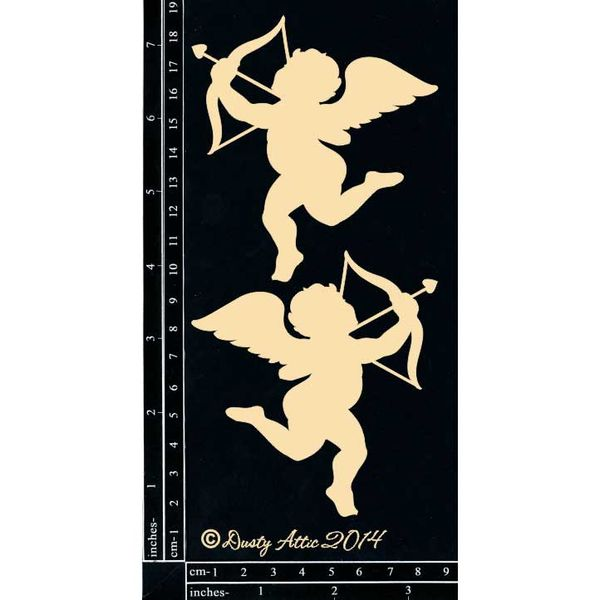 Cupid 2pk - Chipboard Cutouts