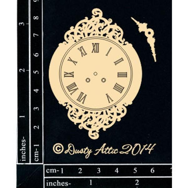 Vintage Clock 2 - Chipboard Cutouts