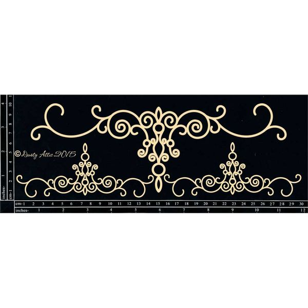 Ornamental Trim Set - Chipboard Cutouts