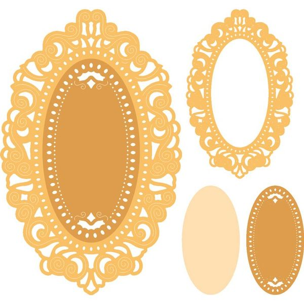 Mirror Mirror Doily Frame (Set of 3) - Die
