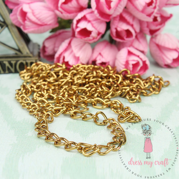 Golden Antique Chain - Thick