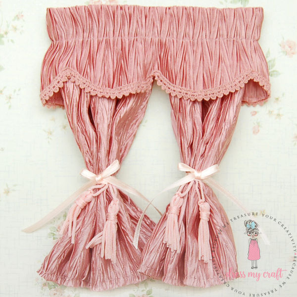 Miniature Cloth Curtains