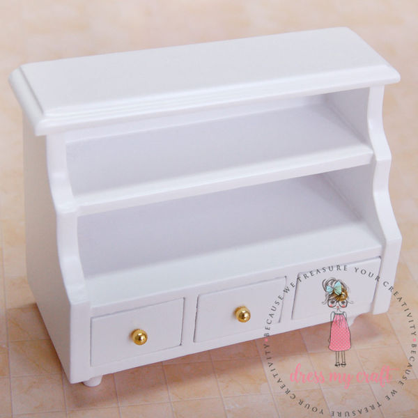 Miniature Cabinet with Drawers