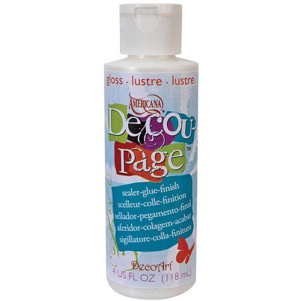Americana Decou-Page Glue 4oz Gloss