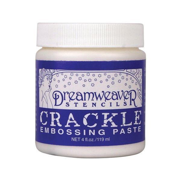 Dreamweaver Embossing Paste 4oz Crackle