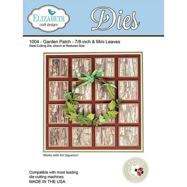 Garden Patch -7/8-inch & Mini Leaves