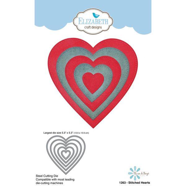 Stitched Hearts Die