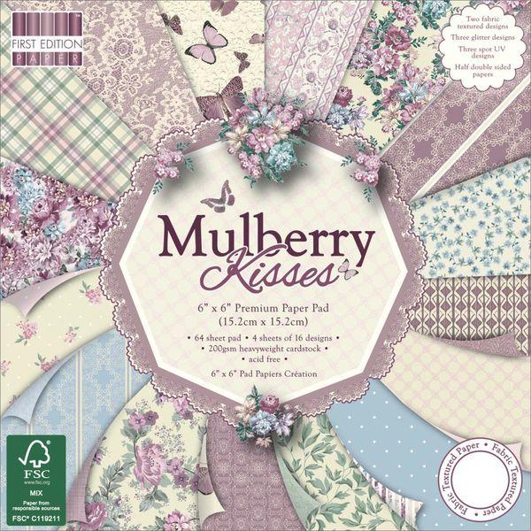 """Mulberry Kisses Paper 6""""X6"""" 64/Pkg"""
