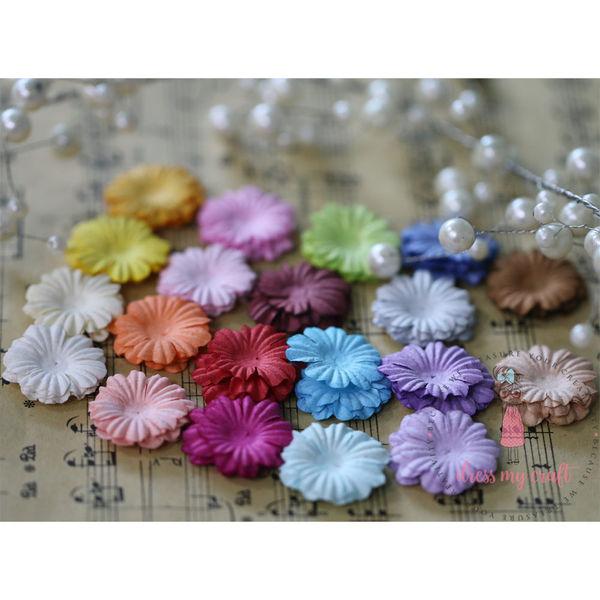 Sakura Flat Flowers - Multicolor