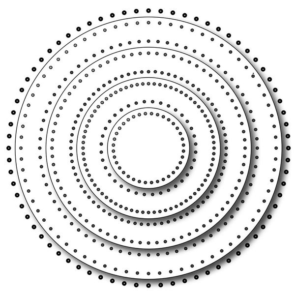 Pinprick Circles Die