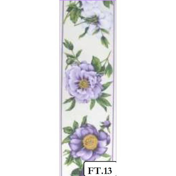 Peony Purple - FABRIC TAPES PURE COTTON