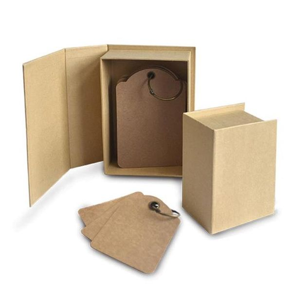 Kraft - ATC Cards Book Box