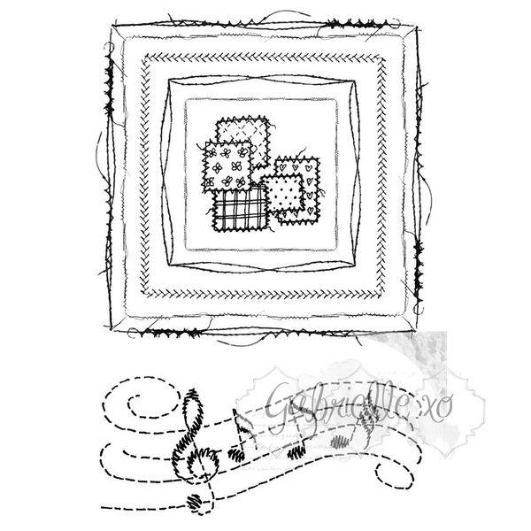 Gabi's Square Stitch - Stamp