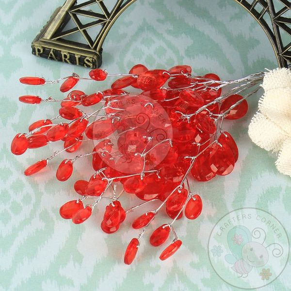 Red  Crystal Fillers