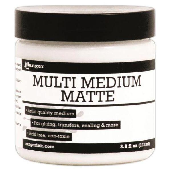 Matte - Multi Medium 3.8oz Jar