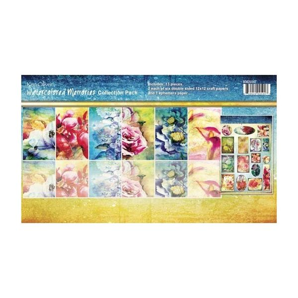 Watercolored Memories - Collection Kit 12x12