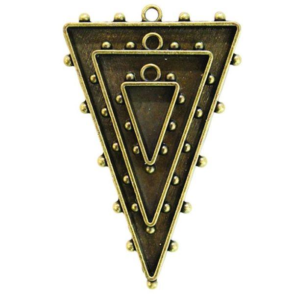 Triangles One - Bronze