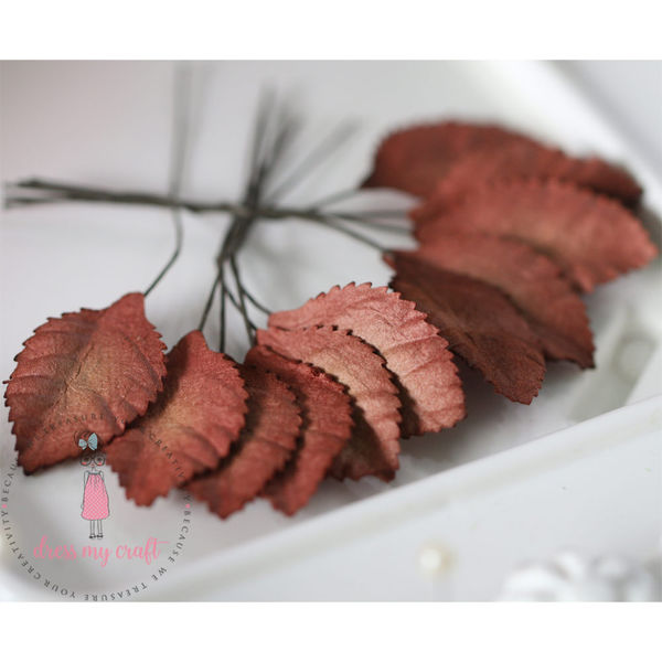 Rose Leaf - Vintage Brown