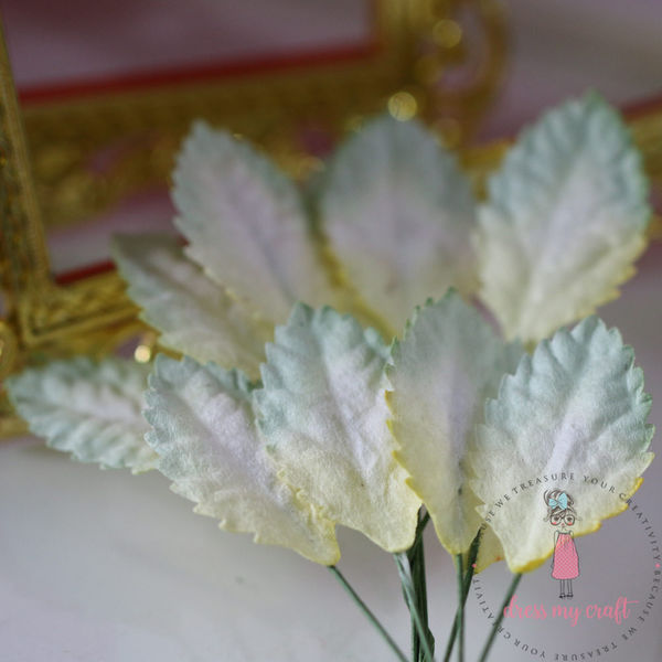 Rose Leaf - Green Yellow