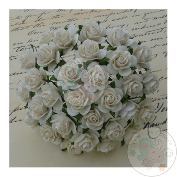 Micro Roses - Ivory