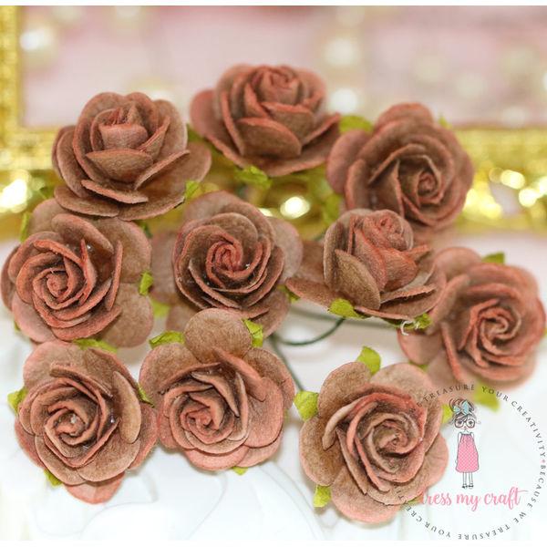 Micro Roses - Brick