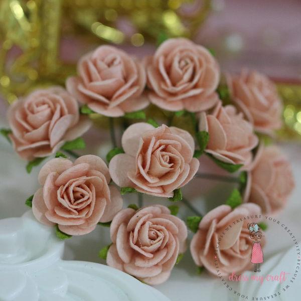 Micro Roses - Vintage Peach