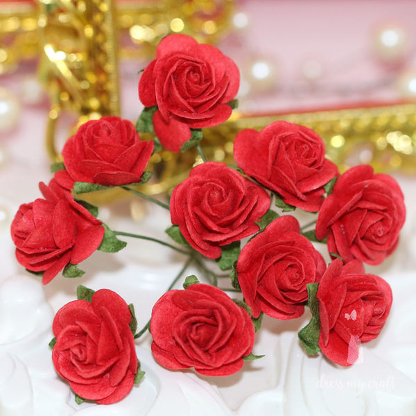Micro Roses - Red