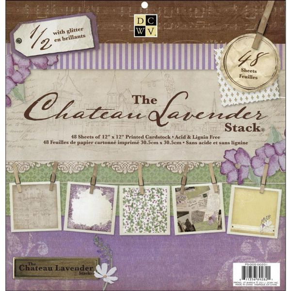 Chateau Lavender Paper Stack