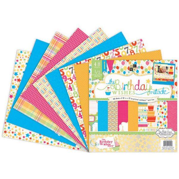 Birthday Paper Stack 12