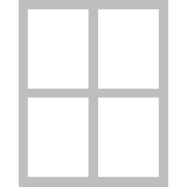 Window -Foam Front Card Kit