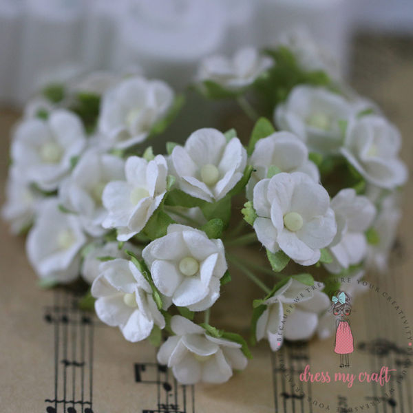 Retro Flower - Off White