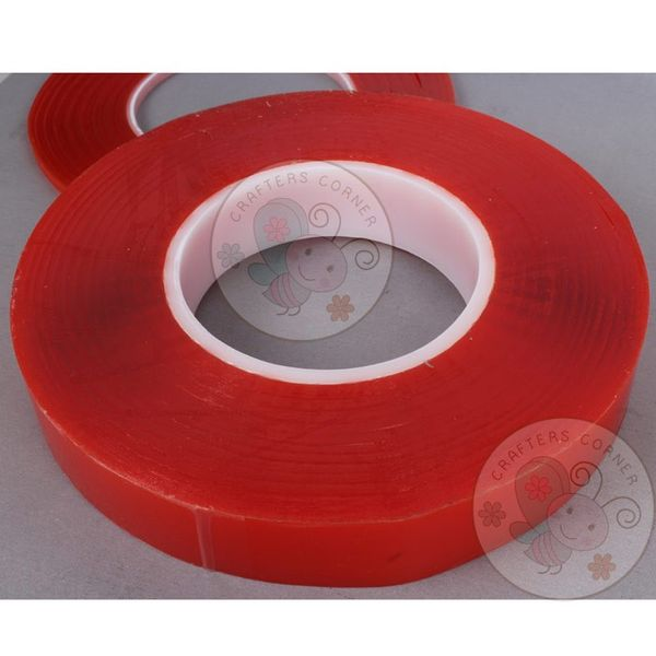Red Tacky Tape - 24mm