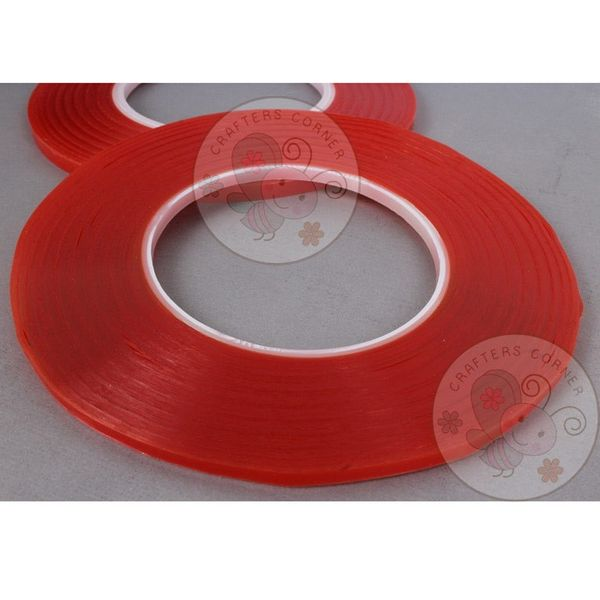 Red Tacky Tape - 4mm