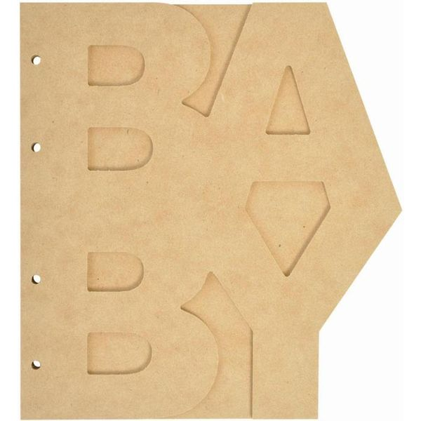 Beyond The Page MDF Baby Album